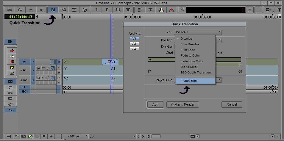 Quick Transition - FluidMorph